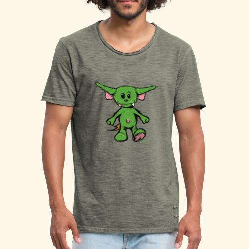 Brasilianische Zwergschlammelfe (groß) - Männer Vintage T-Shirt