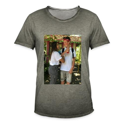 tijmen*haily t-shirt - Mannen Vintage T-shirt