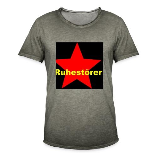 Ruhestörer - Männer Vintage T-Shirt