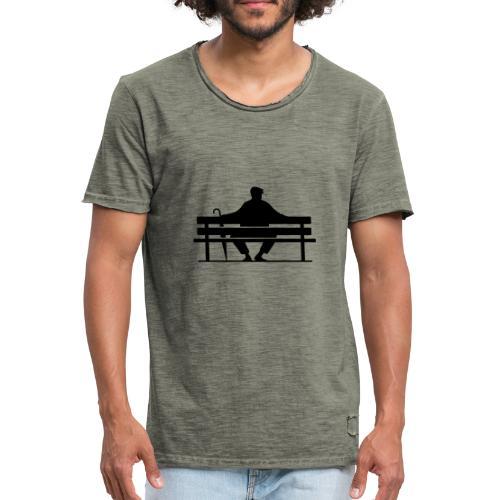 Benchwarmers bench - Vintage-T-shirt herr