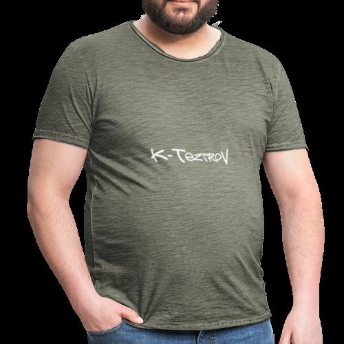k-teztrov - Mannen Vintage T-shirt