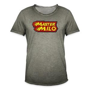 MasterMilo - Mannen Vintage T-shirt