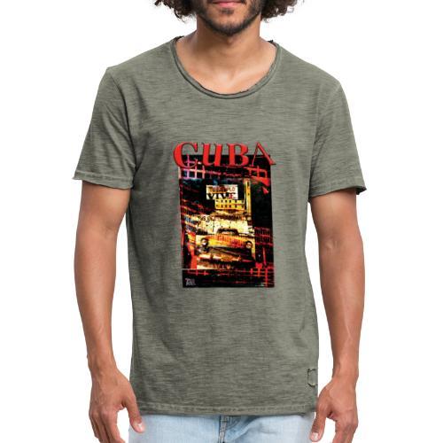 cuba 03 - T-shirt vintage Homme