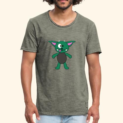 Schwarzwald-Zwergschlammelfe (klein) - Männer Vintage T-Shirt