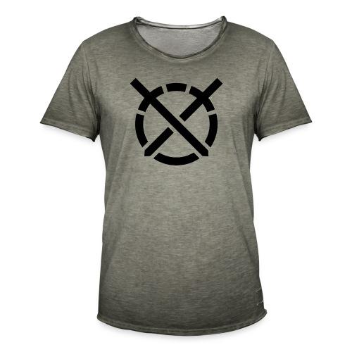 «Arte do Combate» simbolo preto - Camiseta vintage hombre