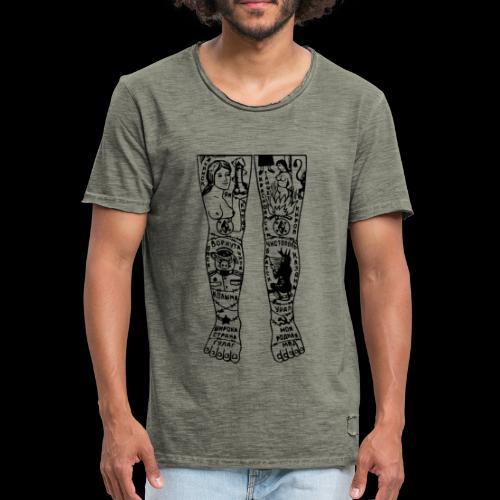 RVSSN - Maglietta vintage da uomo