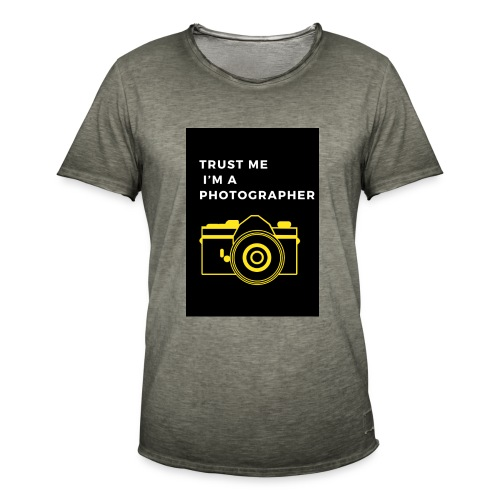 I'M A PHOTOGRAPHER - Männer Vintage T-Shirt