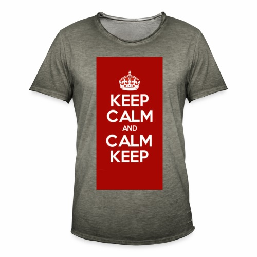 Keep Calm Original Shirt - Men's Vintage T-Shirt