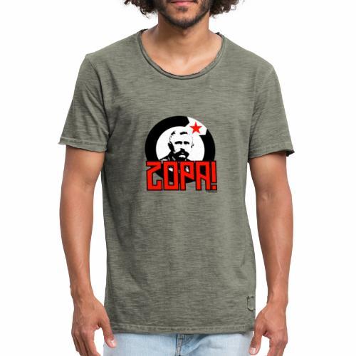 Zopa! - Mannen Vintage T-shirt
