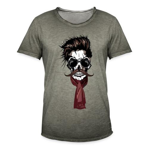 tete de mort hipster crane foulard echarpe skull m   Tee Shirts  hipsterskull tête de mort barbu avec moustache a95ec320564