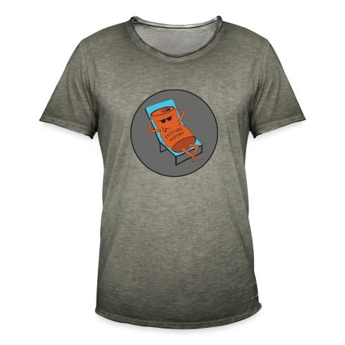Festivalpodden - Loggan - Vintage-T-shirt herr