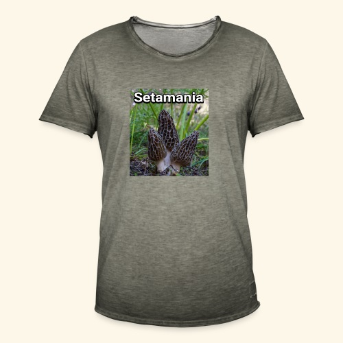 Colmenillas setamania - Camiseta vintage hombre