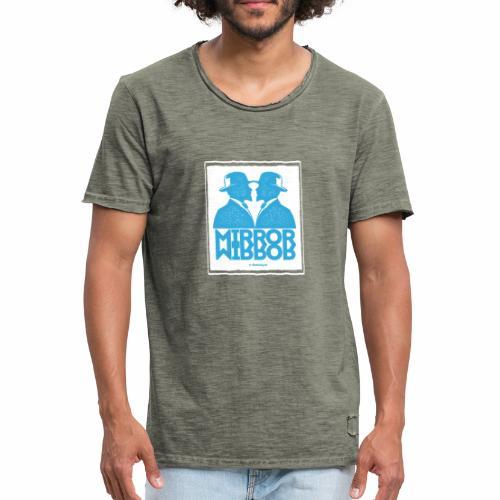 Mirror Mirror - Mannen Vintage T-shirt