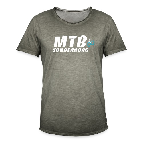 MTB Sønderborg Logo - Herre vintage T-shirt