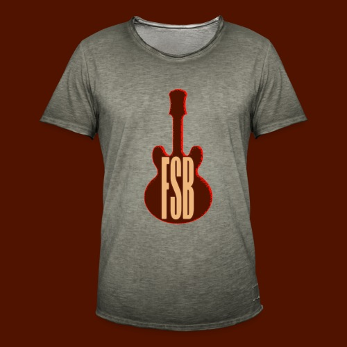 FSB Guitar Logo - Men's Vintage T-Shirt