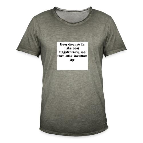 YOLO shirt - Mannen Vintage T-shirt
