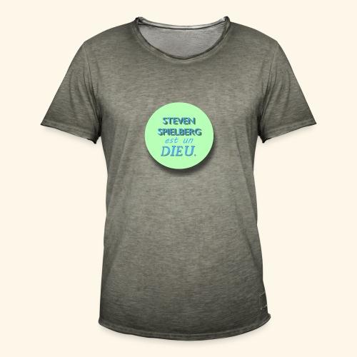 Steven Spielberg - Collection Flat Circle - T-shirt vintage Homme