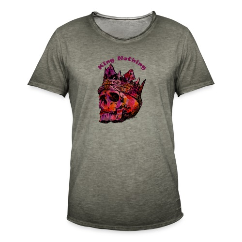 KingNothing - Herre vintage T-shirt