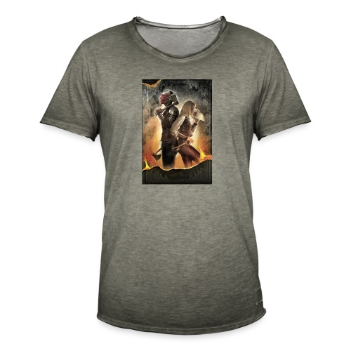 Rapeel and Terrina from Black Guild - Men's Vintage T-Shirt