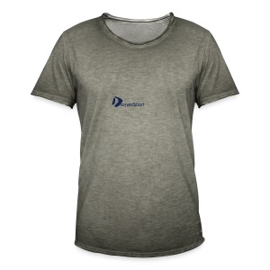 Logo DomesSport Blue noBg - Männer Vintage T-Shirt