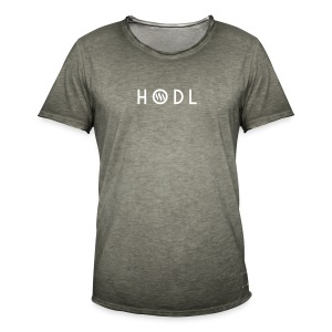 Hodle Steemit - Men's Vintage T-Shirt