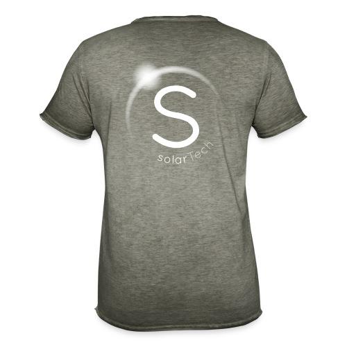 SolarTech - Camiseta vintage hombre