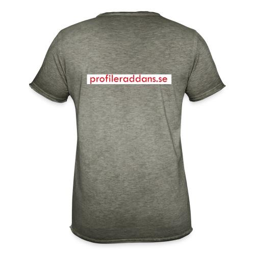 profileraddans.se - Vintage-T-shirt herr
