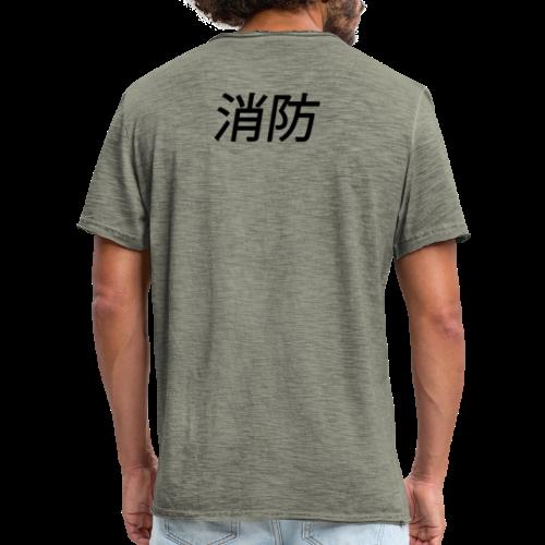 fire #element - Herre vintage T-shirt