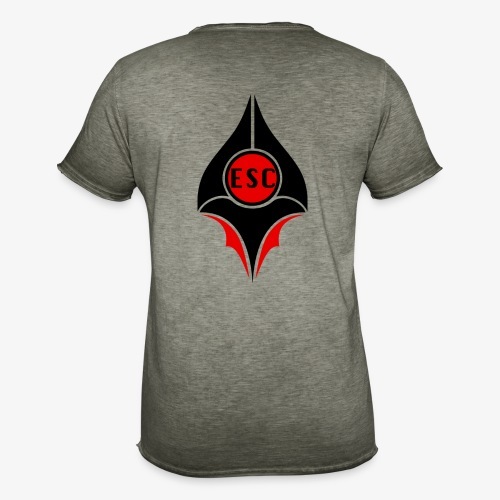 ESC   E-SPORT COMMUNITY - Männer Vintage T-Shirt