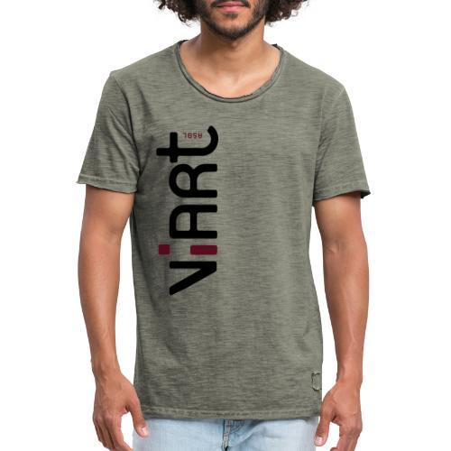 ViArt asbl Logo - Männer Vintage T-Shirt