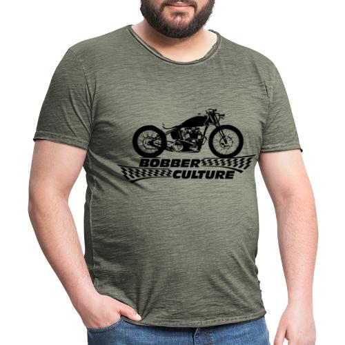 Bobber Culture - Camiseta vintage hombre