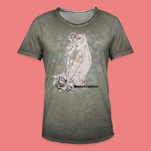 MoodCreativo - Maglietta vintage da uomo
