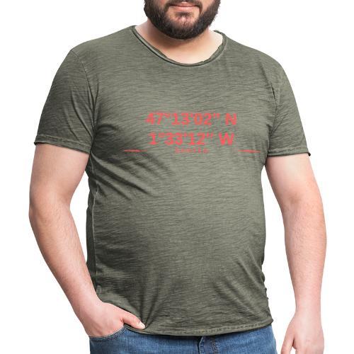 Nantes - T-shirt vintage Homme