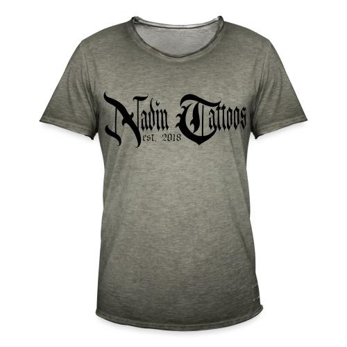 NT Logo - Männer Vintage T-Shirt