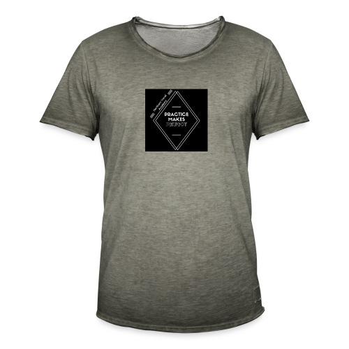 Practice Makes Perfect - Men's Vintage T-Shirt