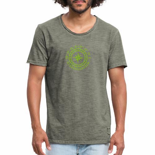 St. Goarshausen – Kompass - Männer Vintage T-Shirt