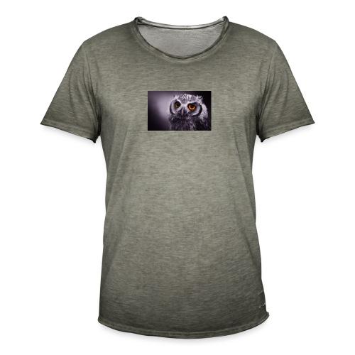 Pöllö - Miesten vintage t-paita