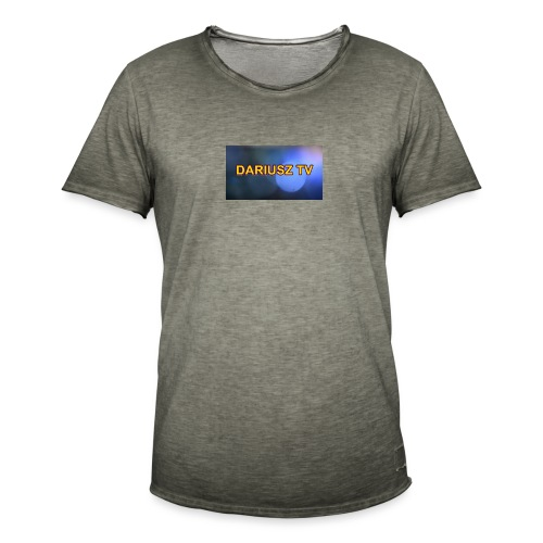 DARIUSZ TV - Koszulka męska vintage