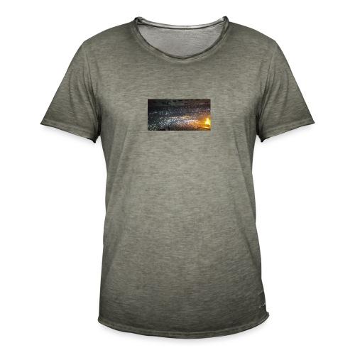 BIEBER - Männer Vintage T-Shirt