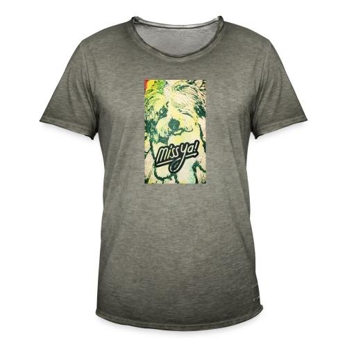 Musste, süsser Hund - Männer Vintage T-Shirt
