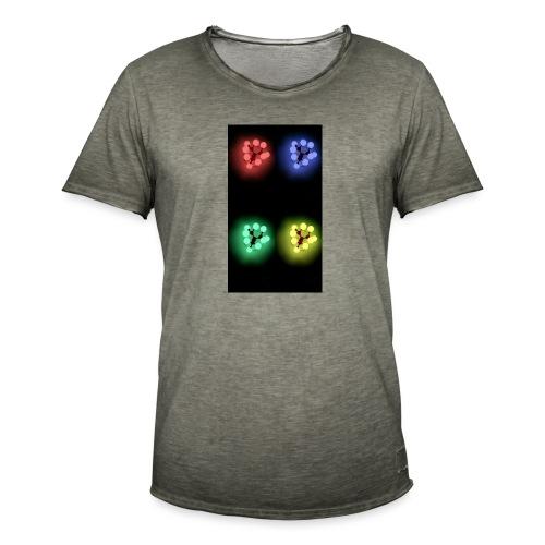 Lights - T-shirt vintage Homme