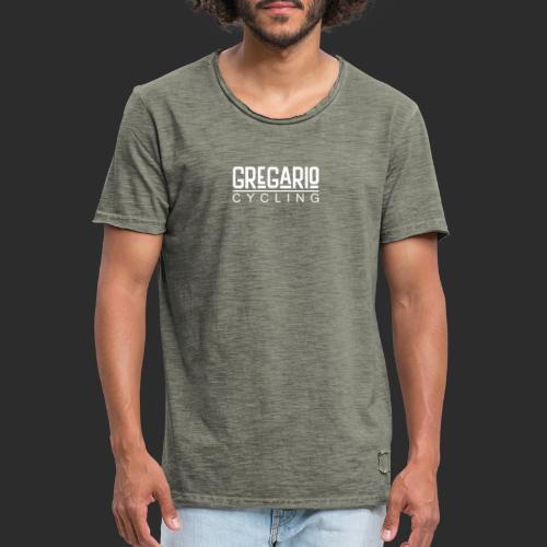 Gregario Cycling - Männer Vintage T-Shirt