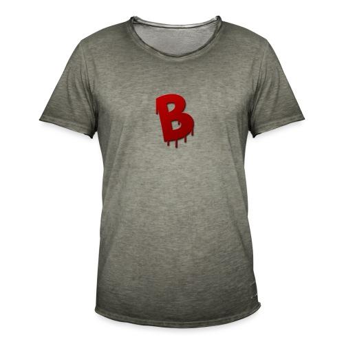 Rood Bartjuh - Mannen Vintage T-shirt