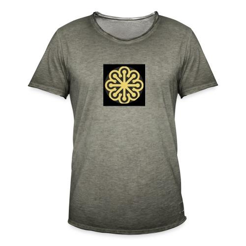 BGLogoGOLD - Men's Vintage T-Shirt