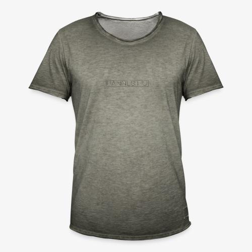Hannes Logo4 v4 - Männer Vintage T-Shirt