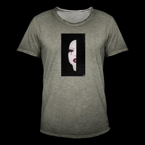 BlackWhitewoman - Maglietta vintage da uomo