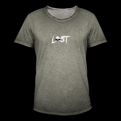 lost skull tête de mort - T-shirt vintage Homme