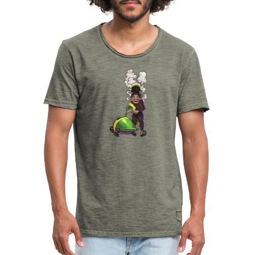 Gießen | Gimaica - out of many, one Gießen - Männer Vintage T-Shirt