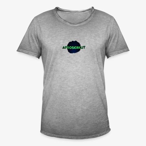 AfroSerkut LOGO - Miesten vintage t-paita