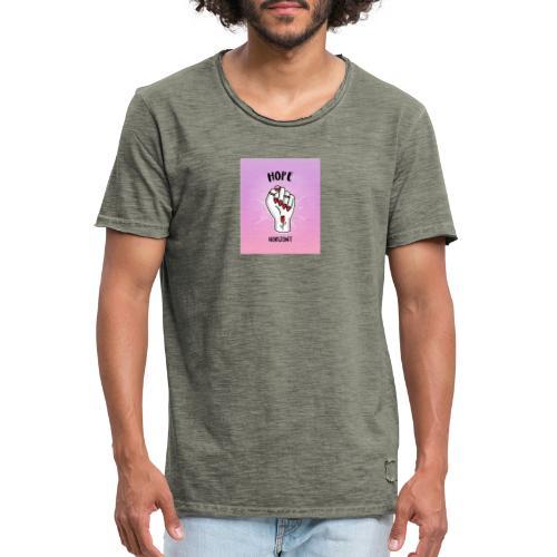 Hope Horizont Design - Miesten vintage t-paita